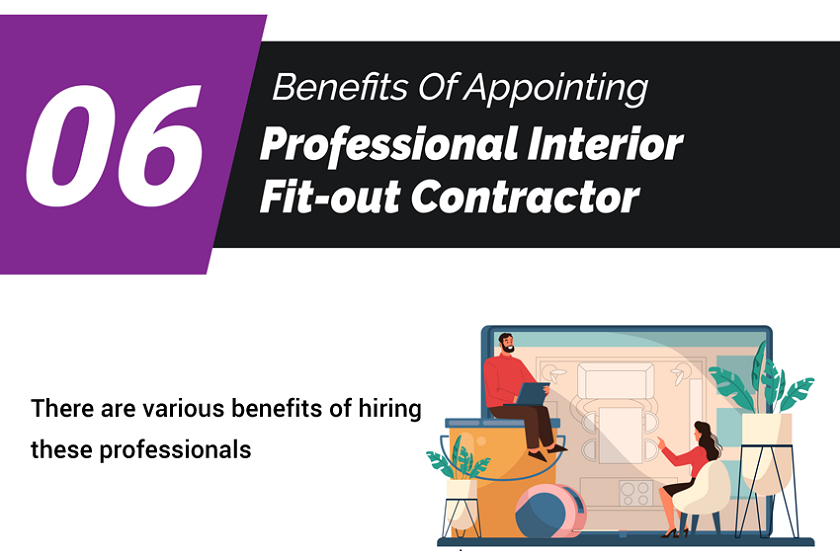 6 Benefits Of Appointing Professional Interior Fit-out Contractor