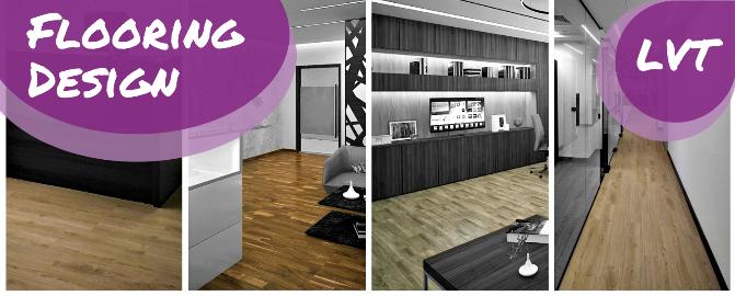 Flooring Design - Luxury Vinyl Tiles - Winterior Decor Blog