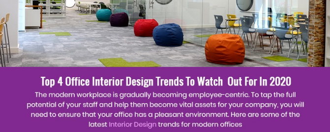 Top 4 Office interior Design Trends To Watch Out For In 2020