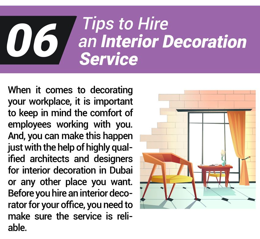 6 Tips to Hire an Interior Decoration Service - Winterior Decor Blog