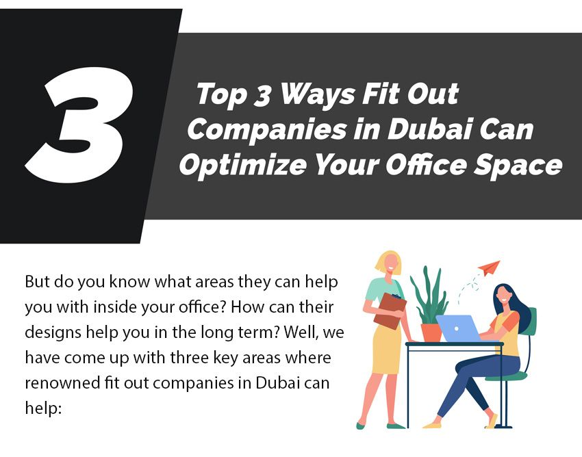 Top 3 Ways Fit Out Companies in Dubai Can Optimize Your Office Space