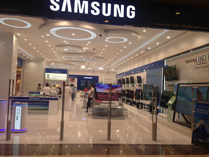 Projects, Winteriors Decor LLC, Images SAMSUNG KHALIDIYA MALL